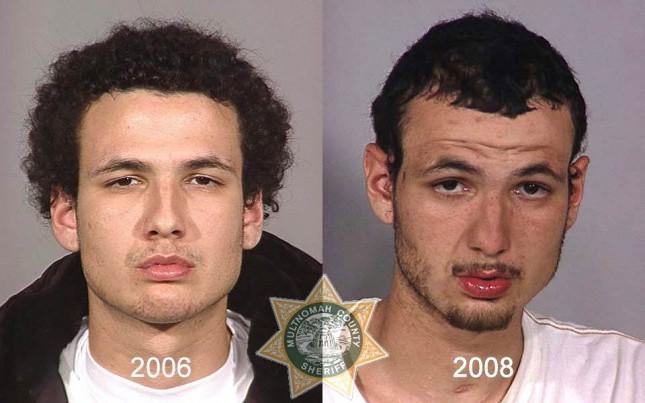 От наркотиците до ареста